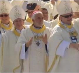 Obispos en la misa de la JMJ
