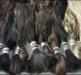 Extensiones de pelo a la venta.