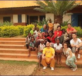 Universitarios de la JEC en Benin