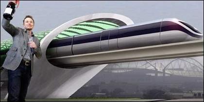 Elon Musk y su Hyperloop.