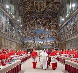 El cónclave en el que salió elegido el Papa Francisco