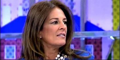 La tertuliana Ángela Portero.