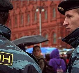 Policía rusa