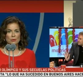Captura del discurso de Ana Botella