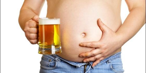 Un bebedor de cerveza