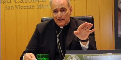 Marcelo Sánchez Sorondo en la UCV