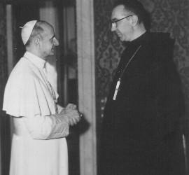 Pablo VI y Brasó