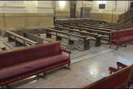 Daños en la basílica del Pilar