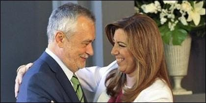 Griñán y Díaz, de subvención en subvención y tiro porque...