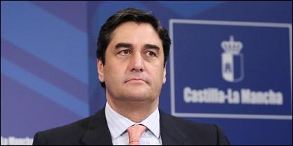 José Ignacio Echániz, consejero de Sanidad y Asuntos Sociales.