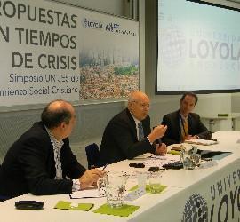 Ponencia de Zamagni en el simposio de la Universidad Loyola Andalucía