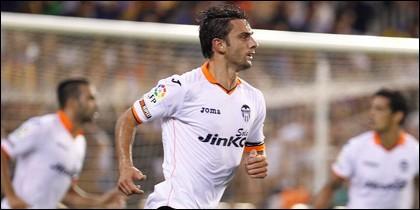 Helder Postiga jugador del Valencia