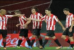 Jugadores del Athletic.