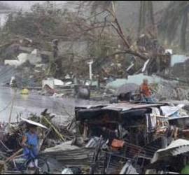 Desastre en Filipinas
