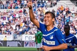 Firmino celebra un gol.