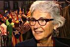 Muriel Casals, presidenta de la independentista Òmnium Cultural.