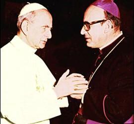 Pablo VI y Angelelli