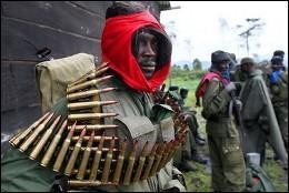 Miembros de la milicia islamista Seleka