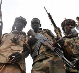 Rebeldes de la Seleka en Centroáfrica