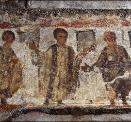La resurrección de Lázaro, el último hallazgo en las Catacumbas de Priscila
