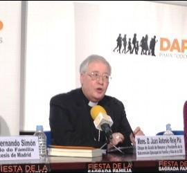Juan Antonio Reig presentó la Misa de las Familias