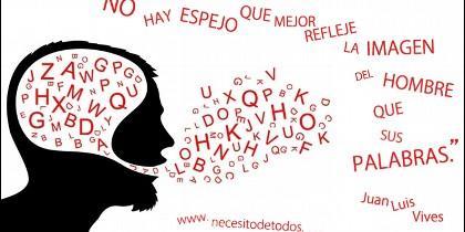 Idioma, lengua, letras y palabras.