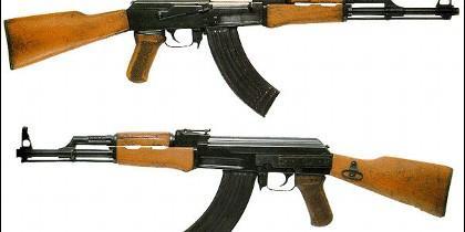 El AK-47 o Kaláshnikov.