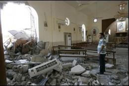 Atentado contra una iglesia en Siria