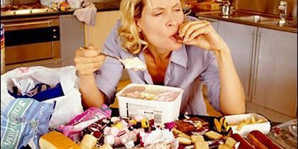 Comida, cena, dieta y calorías.