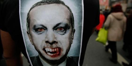 Protestas en Turquía contra el Gobierno de Erdogan.
