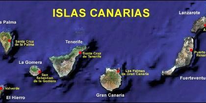 Las Islas Canarias.