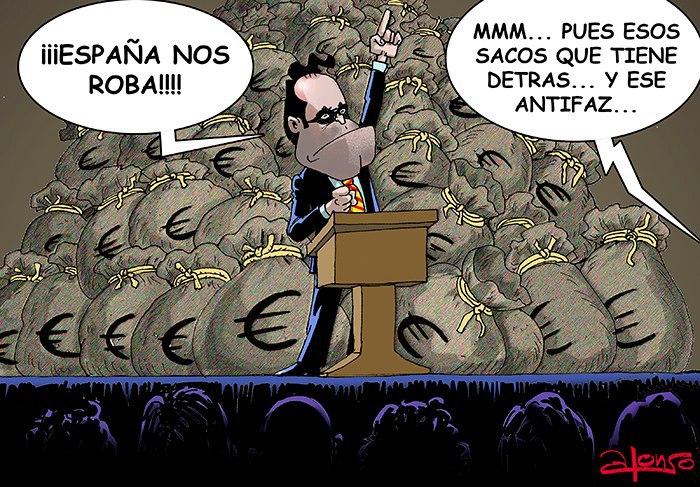 DESESTABILIZAR UN PAÍS. Artur-mas-la-independencia-de-cataluna-y-espana-nos-roba