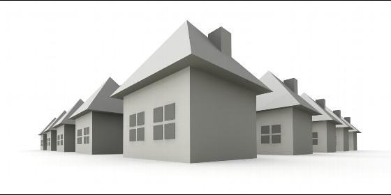 Vivienda, piso, chalet, casa, mercado inmobiliario e hipoteca.