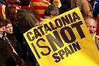 Pancarta independentista: