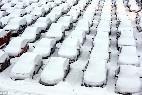 Tormenta, nieva, viento, frío, hielo.