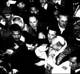 Pablo VI en Tierra Santa