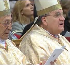 Herranz y Burke en la misa de Reyes