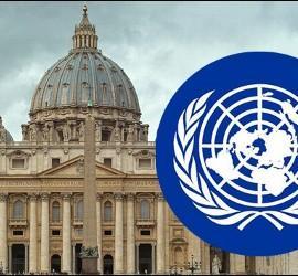 La Santa Sede, ante Naciones Unidas