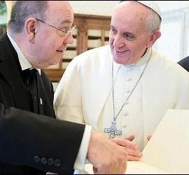 Francisco apuesta por el ecumenismo
