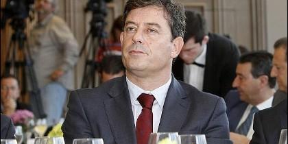 José Ramón Gómez Besteiro, presidente de la Diputación de Lugo.