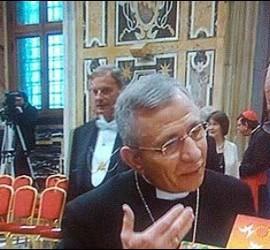 Francisco, con líderes luteranos