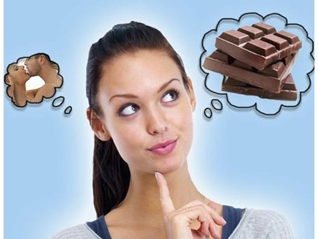 Encuesta sexo vs chocolate