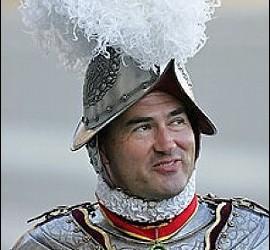 Elmar Maeder, ex comandante de la Guardia Suiza