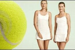 sharapova y Bouchard.