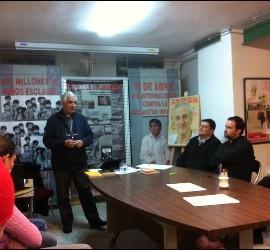 Jorge Lozano en la sede del MCC de Madrid