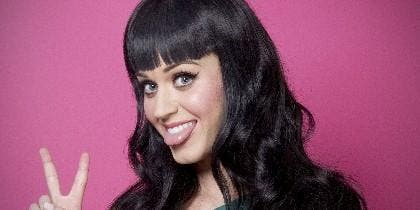 La cantante Katy Perry.