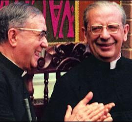 Monseñor Escrivá y Álvaro del Portillo