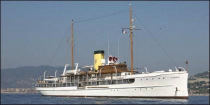 El barco 'SS Delphine'