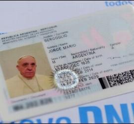DNI del Papa