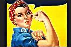 'Rosie la remachadora' representó a los 6 millones de mujeres de EEUU que se hicieron cargo del trabajo de los soldados durante la II G.M.